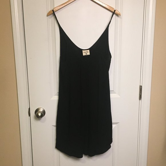 Salt Life Tops - Salt Life Black Beach Dress Long Tank XS